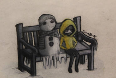 arttober#7 Snowman