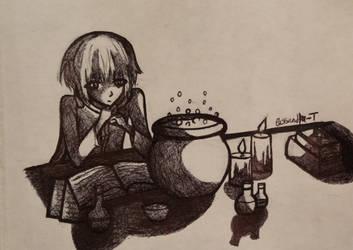 arttober#8 Cauldron