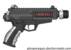 P-5 Light Laser Pistol by caliban1970