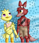 Foxica - Foxy x Chica - Fnaf