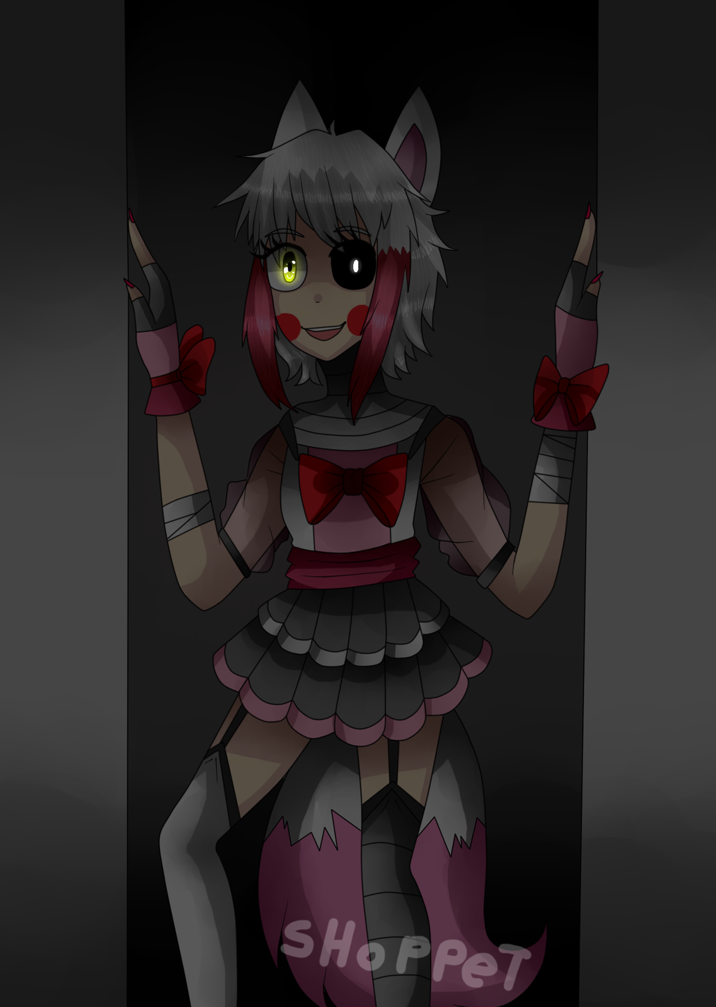 Mangle five nights at freddy s by shoppet sky on deviantart