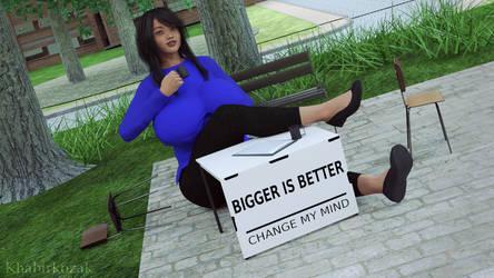 Big Meme - Change my mind by Khabirkozak