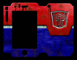 Calling All Autobots - iPhone 3GS Skin