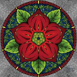 Mandala 003: If It Aint Baroque [colored]