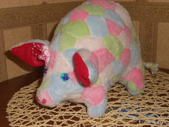 Soft toy Pig is the symbol of the year by Dilstar