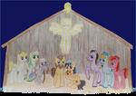 Pony Nativity Scene