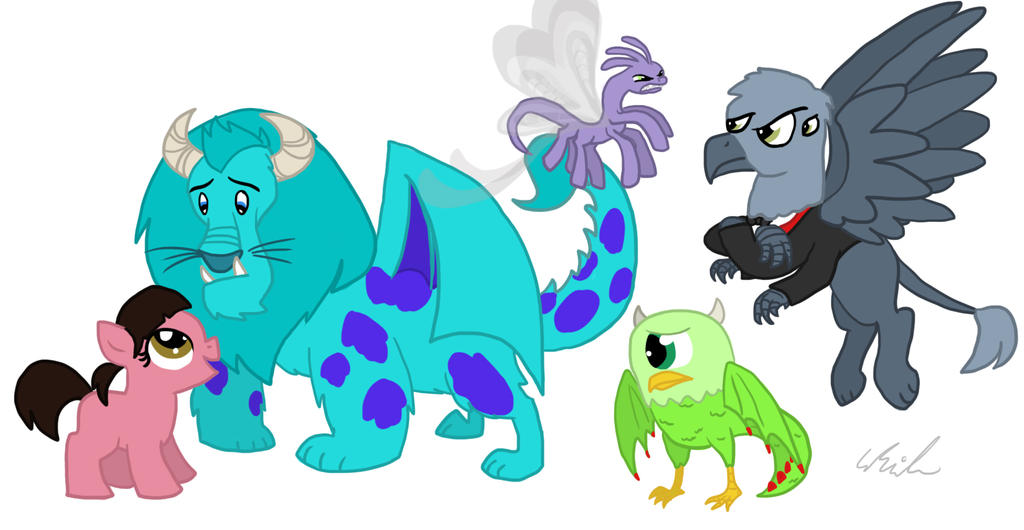 Monsters Inc. By Qemma On DeviantArt