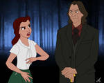Animated OUAT - Belle and Gold