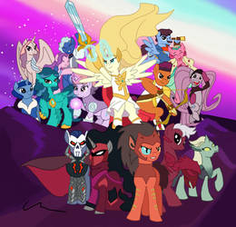 She-Ra and the Ponies of Power