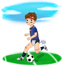 Going for the Goal by MaxieKun