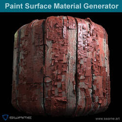 Paint Surface Material Generator