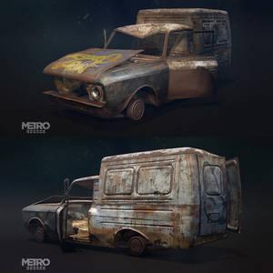 In-game asset Iz for Metro Exodus