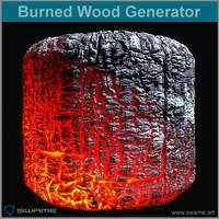 Burned Wood Generator