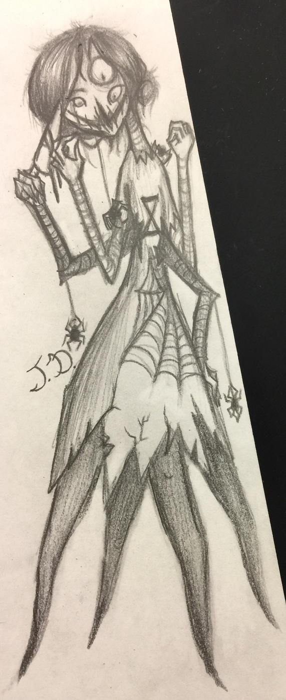 A Black  Spider's Insanity by RoyalDiamonds
