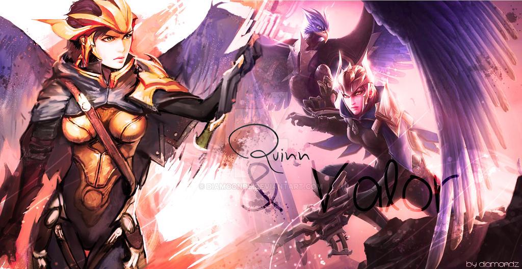Quinn And Valor - Design by Diamoondz