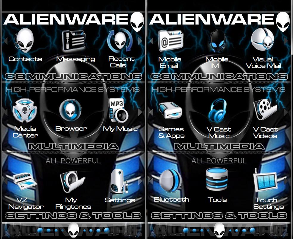 The Alienware Theme by JuiceMan016 on DeviantArt