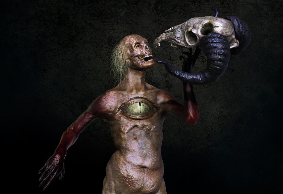 The Bone Whisperer by Dencii
