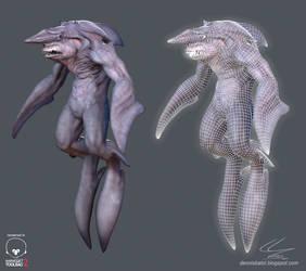 Goblin Shark Man