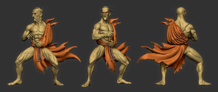Oro Street Fighter fan art