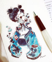 [Bubblegum II :PepperMint] by ki-uii