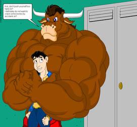 A bearhug for a friend by Sambigliong