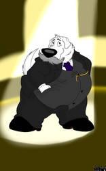 Brian Griffin (Disney Version) as President Taft