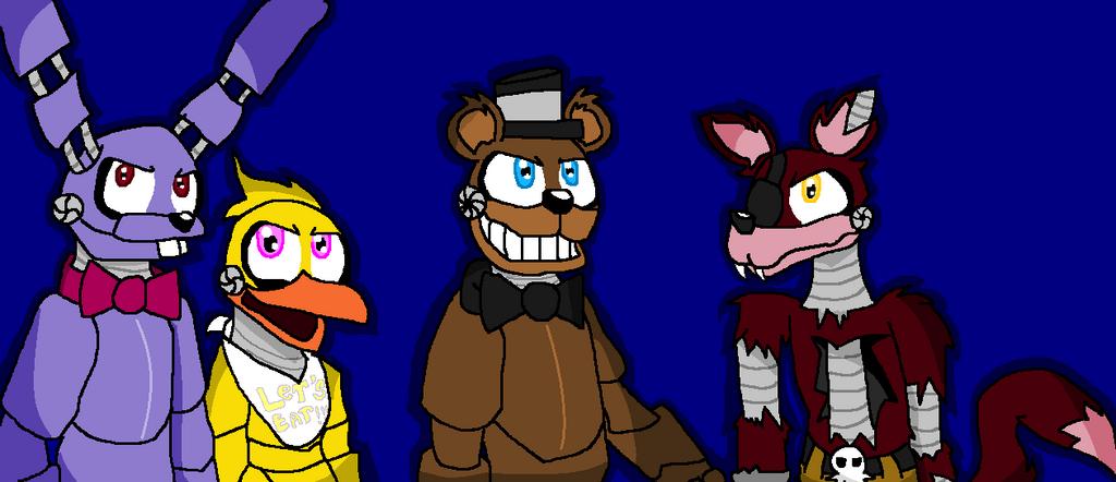 Freddy Fazbear's Crew by Nneriamux4ever