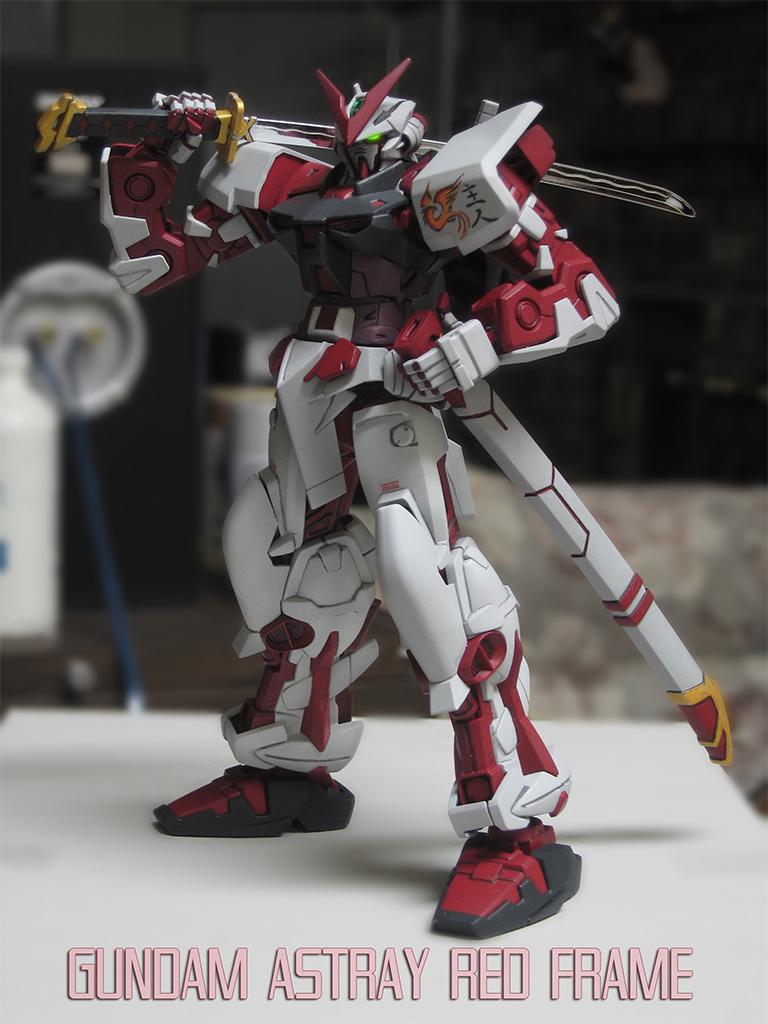 Gundam Astray Red by Pensketcher