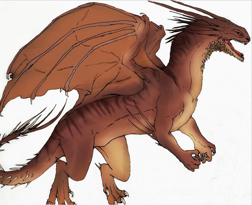 Dragon design by noname4lyf