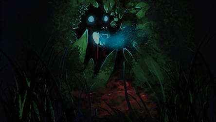 Creature In Forest by BethKirky