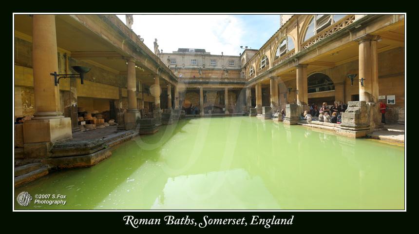 Roman Baths by FoxDesigns