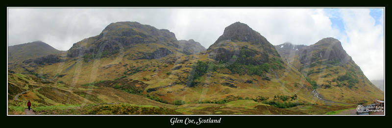 Glen Coe Panorama 2