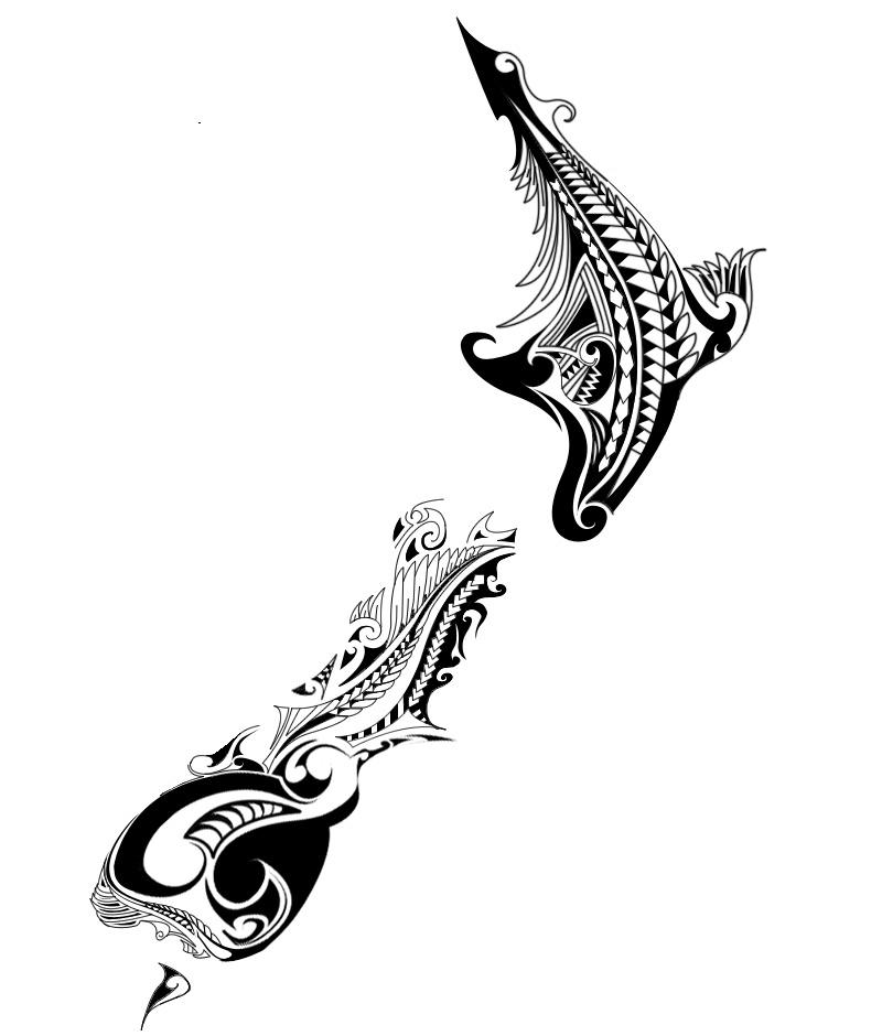 Maori Kiwi Tattoo: New Zealand Map Tattoo By Casanova218 On DeviantArt