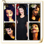 Black Dahlia Makeup and Costume