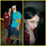 Adventure Time Marceline Makeup and Costume