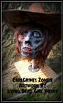 Carl Grimes Zombie Side Angle