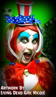 Lady Captain Spaulding Makeup and Costume