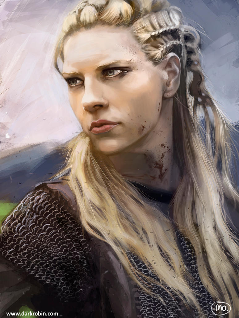 Lagertha by MarinaOrtega on DeviantArt Viking Woman Art