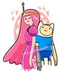 Finn + Princess Bubblegum