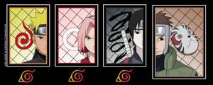 Team Kakashi by tsukishoujo