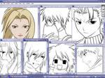 Works in progress by tsukishoujo