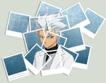 +Hitsugaya - Polaroid Collage+