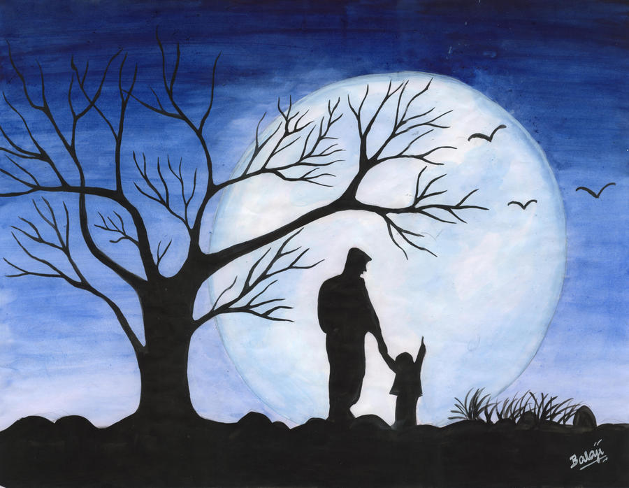 Look dad the Moon ! - Father's day Gift by balasolai on ...