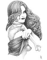 Transparent Girl by BenStrickland