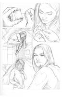 Shirley's Heart pencils by BenStrickland