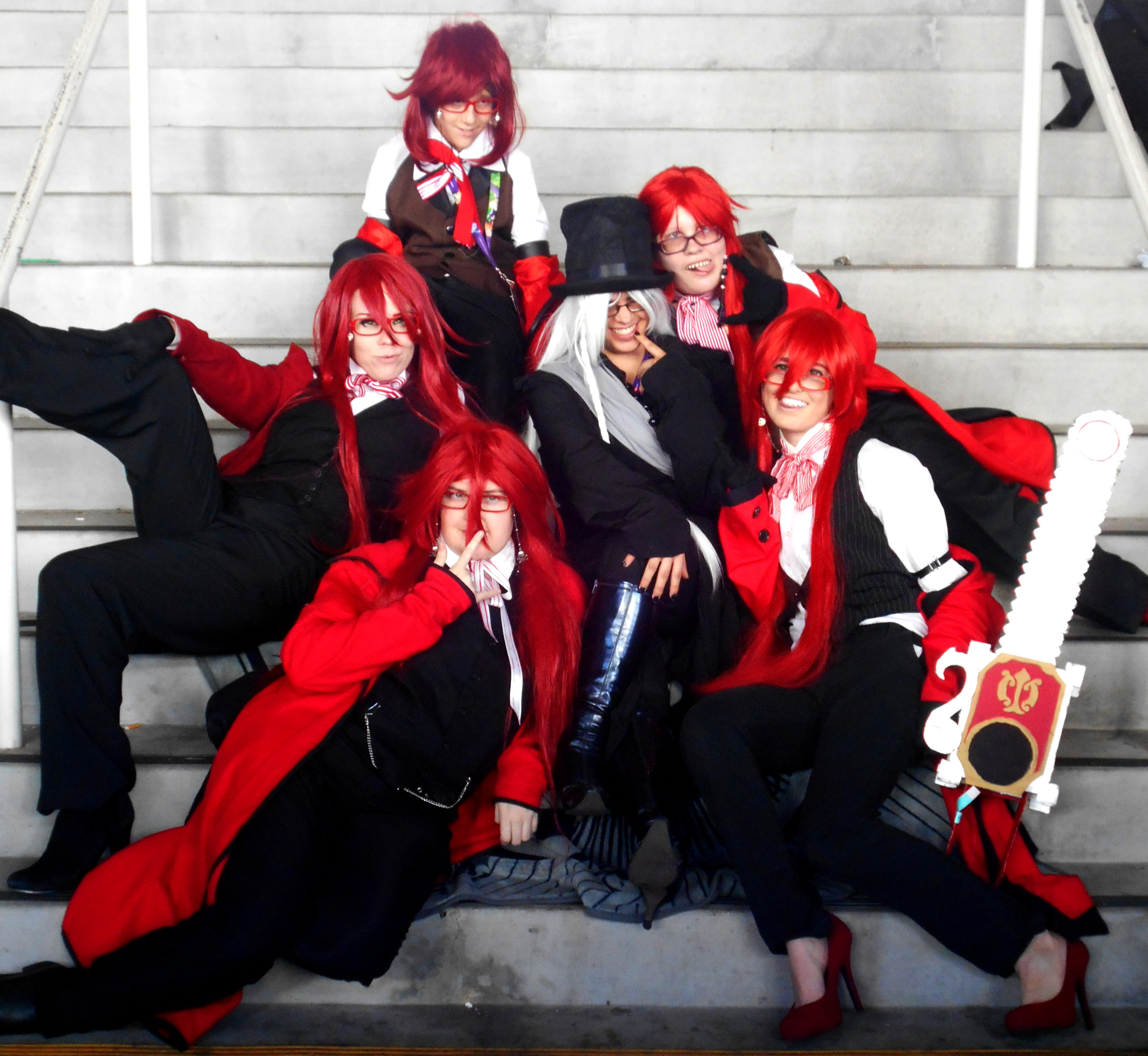 Grell X Reader Lemon