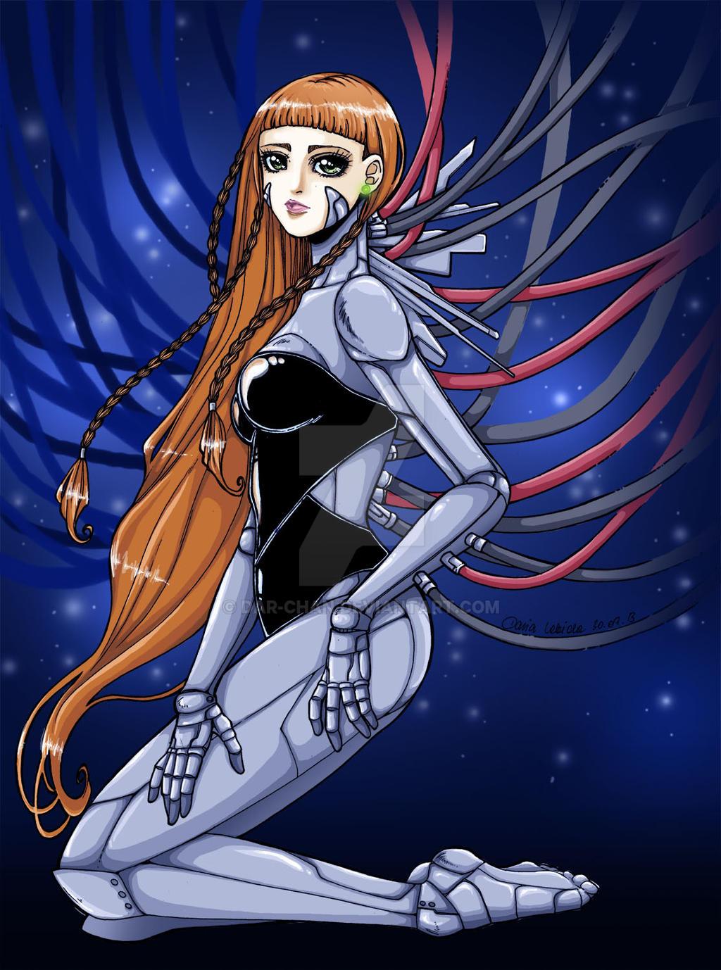 Cloe the cyborg girl by Dar-chan on DeviantArt