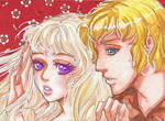 Commission: ACEO#19 - Lady Amalthea and Prince Lir