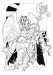 Eternal Sailor Moon - lineart by Dar-chan