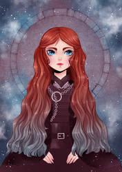 Fanart - GoT: Sansa Stark in BJD Style by Dar-chan